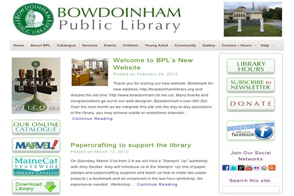 Bowdoinham Public Libaray