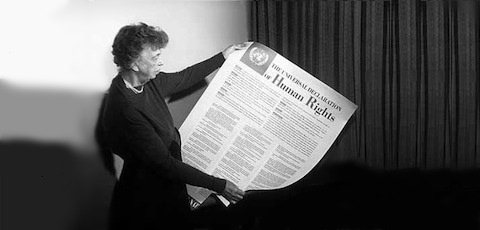 Community development and the declaration of universal human rights