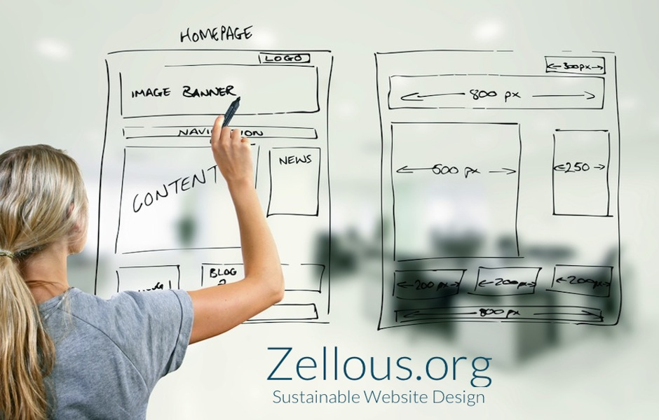 Zellous.org Wordpress Website Design - Layout