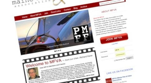 Mainefilm.org Screenshot