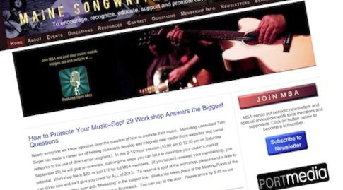 Maine Songwriters Association